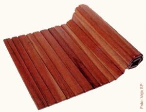 tapete de madeira